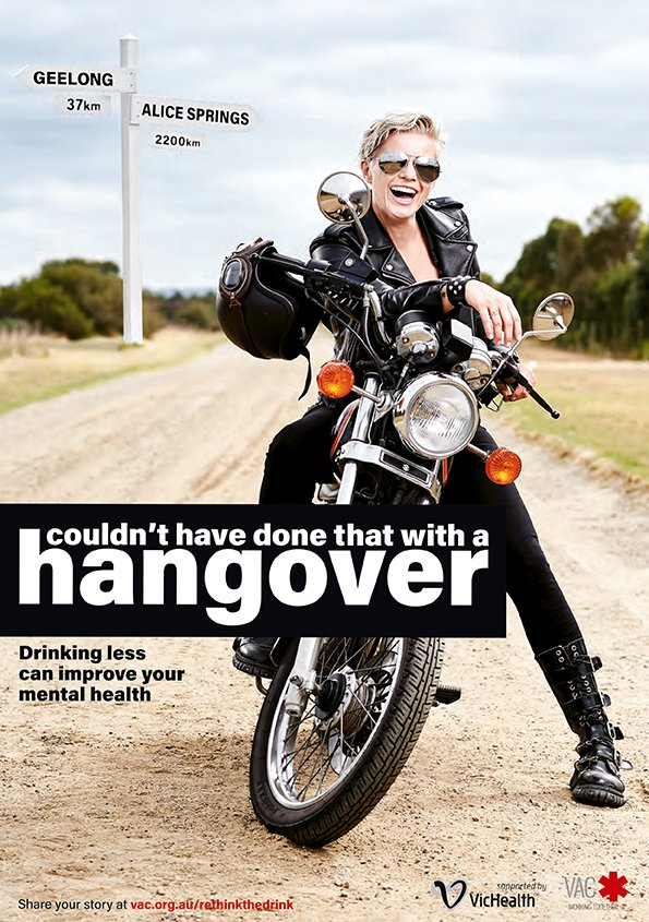 ReThink the Drink Biker