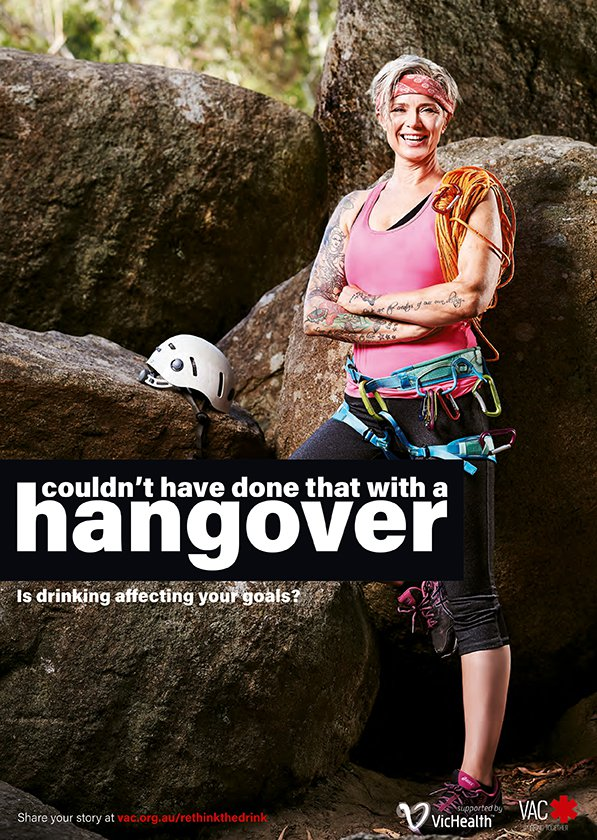 ReThink the Drink Rockclimber
