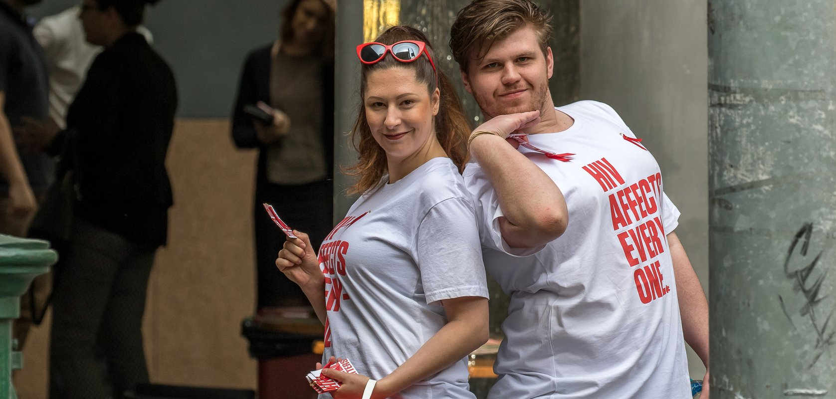World AIDS Day Street Appeal